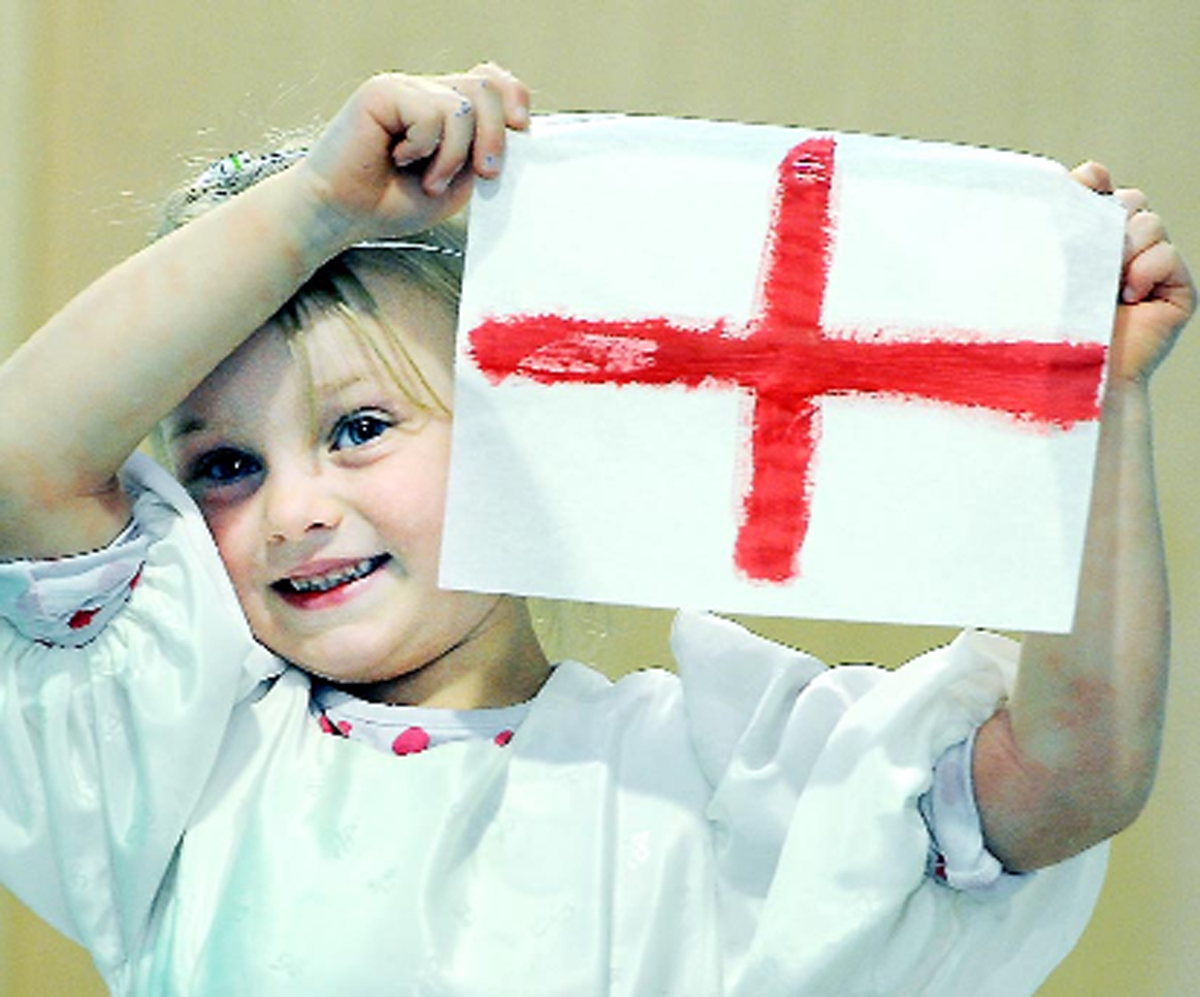 East Lancashire celebrates St George's Day