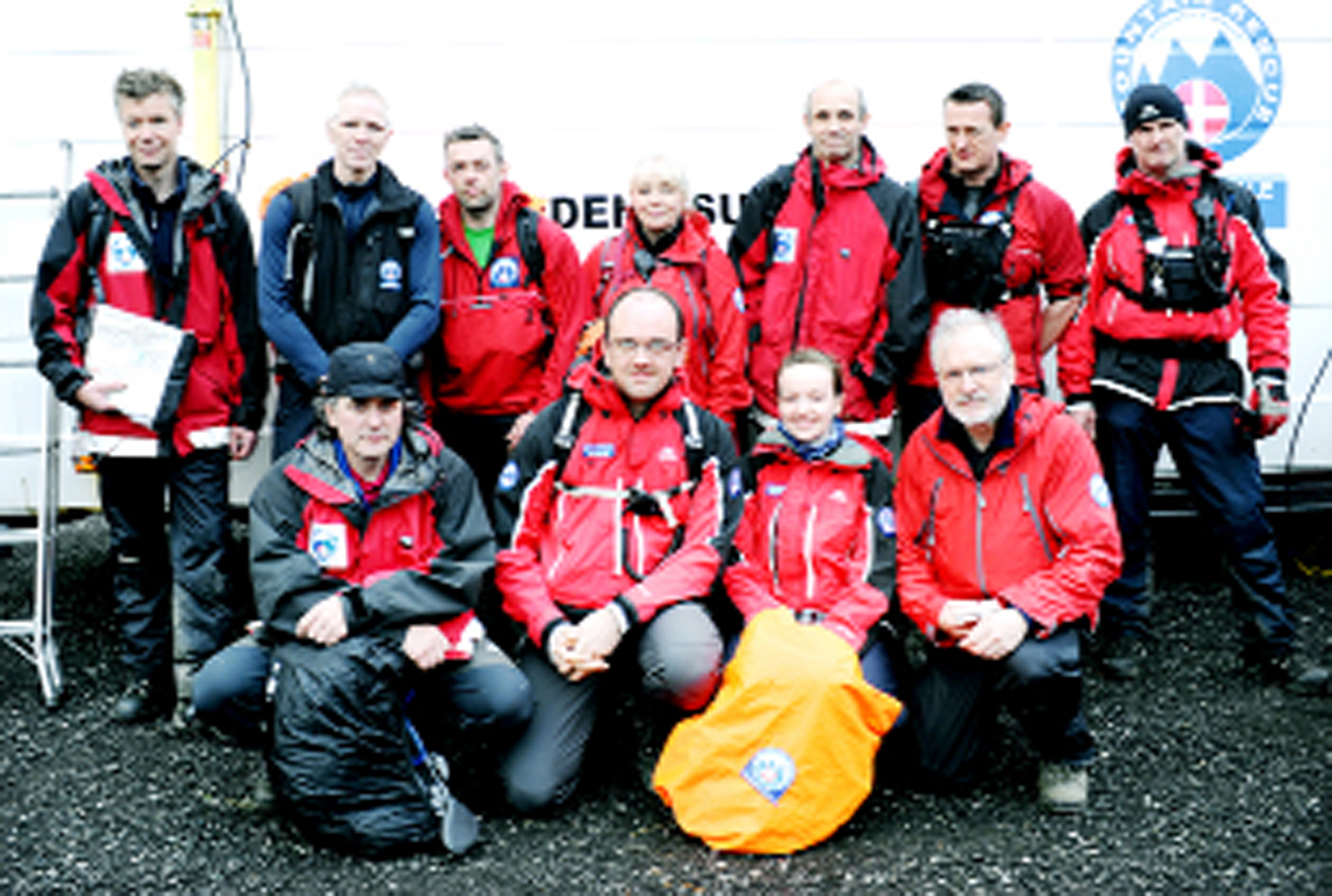 Rossendale and Pendle Mountain Rescue team, whose members Alwyn Hayes and Mick Fanshawe are to cycle from Land's End to John O'Groats