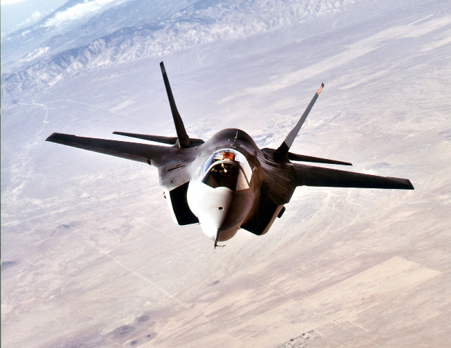 The F-35 Lightning II will make its debut at Farnborough in July