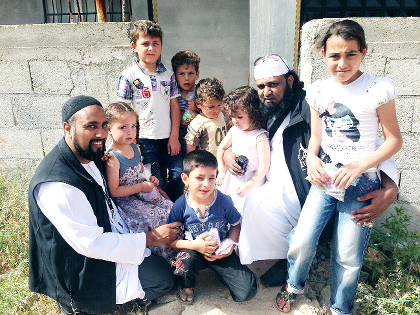 East Lancs charity, Al Imdaad Foundation UK, brings flour power to refugees
