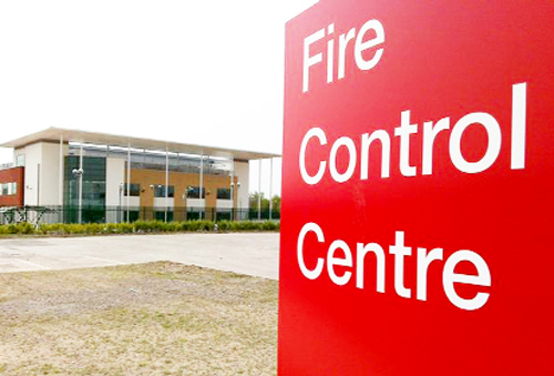 The new fire control centre in  Warrington