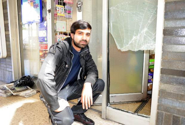 Kiosk manager Amjad Anwar says a break-in at the rail station shop is the 'last nail in the coffin'