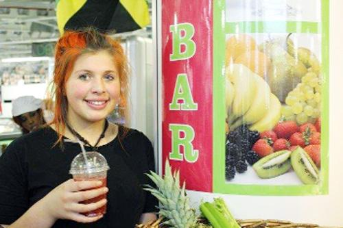 Blackburn Citizen: The Juice Bar at Blackburn Market