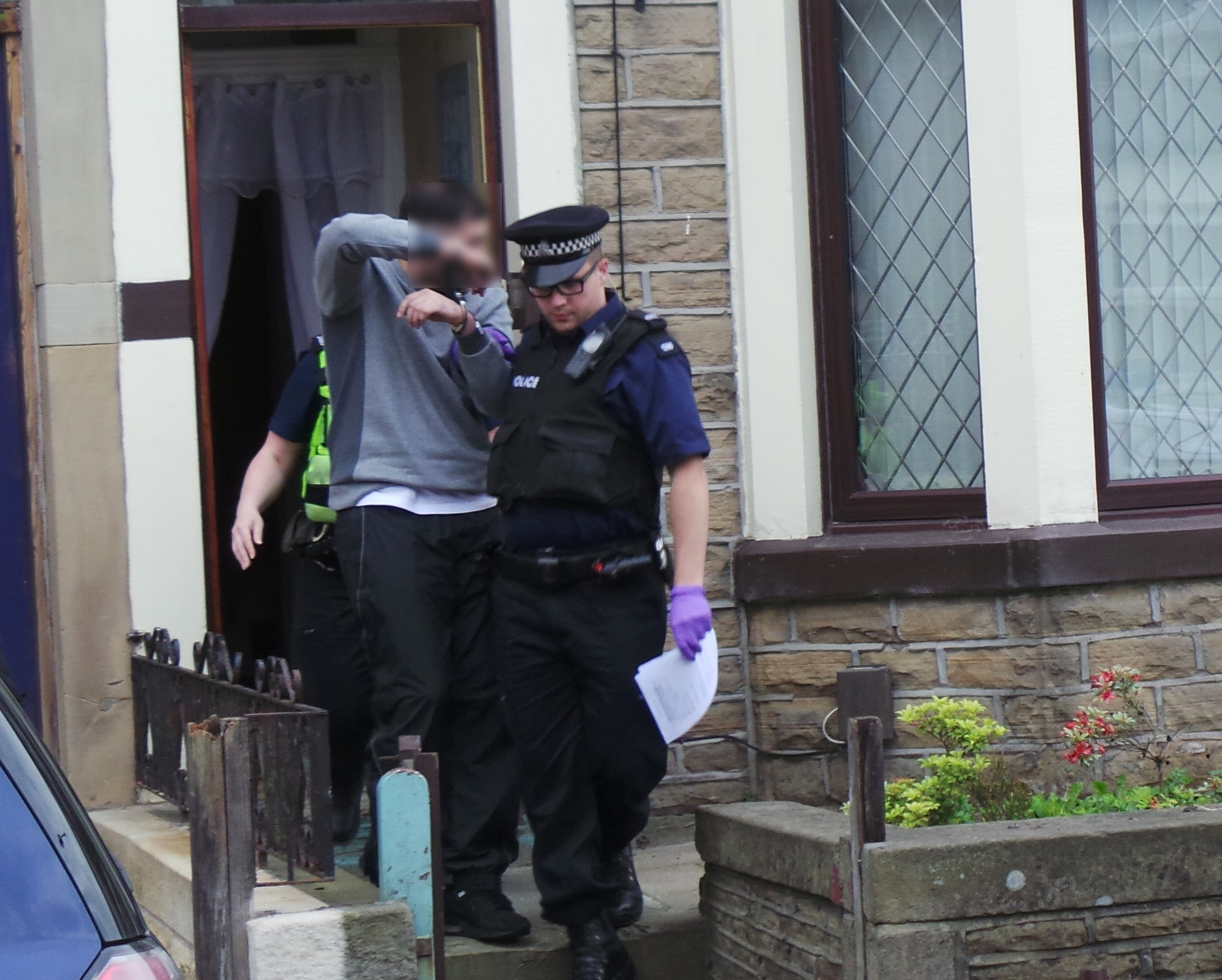 Seven charged after £250k East Lancs drugs ra