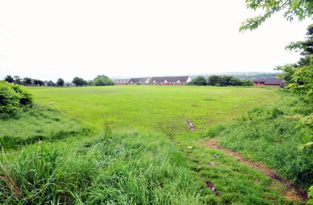 Blackburn Citizen: The 14-year-old girl was playing on fields near to St James' C of E Primary School, in Oozebooth Terrace