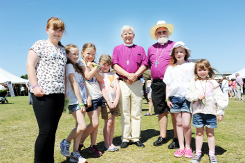 Festival fun a real show of faith for Bishop of Blackburn