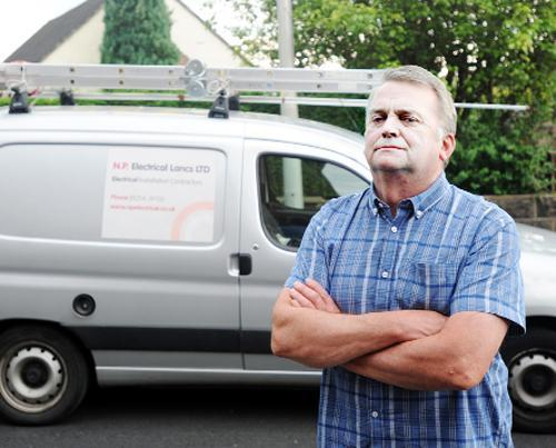 Blackburn Citizen: Neil Pope who has rebranded and relaunched his business after a former worker stole money