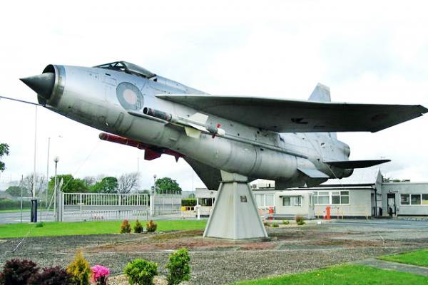 Blackburn Citizen: The English Lightning as it appeared in Samlesbury