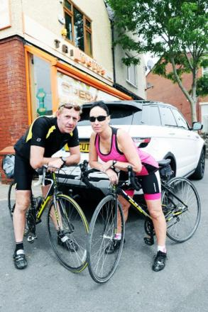 Eric and Sarah Brotherton whose fundraising trip is under threat