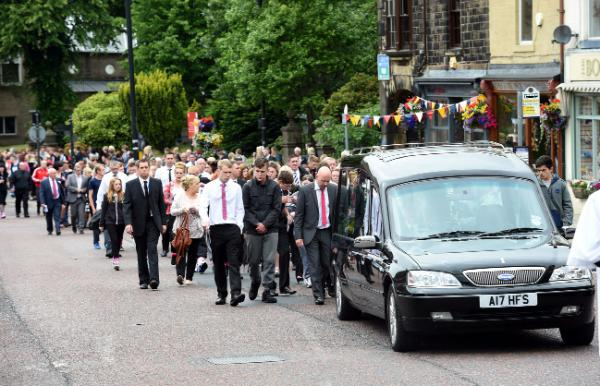 Town at standstill to pay tribute to East Lancs teen who died in reservoir tragedy