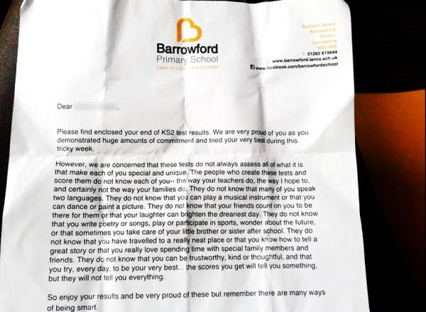 East Lancs headteacher's letter to students goes global