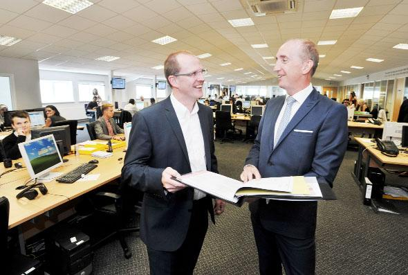 Intelling MD Phil Morgan and New Call Telecoms CEO Nigel Eastwood look at plans for the new extension