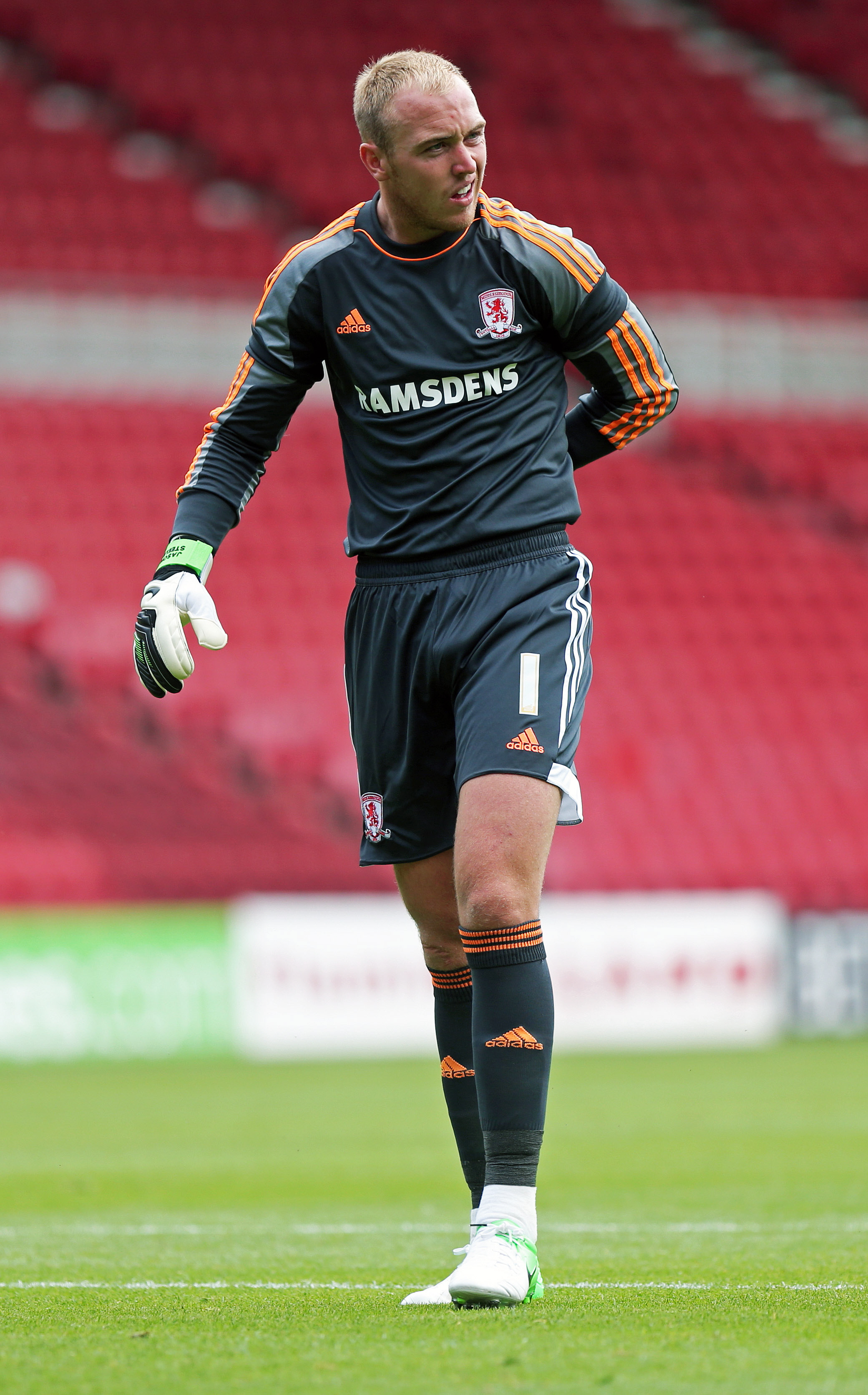 Boro keeper Jason Steele has signed for Rovers