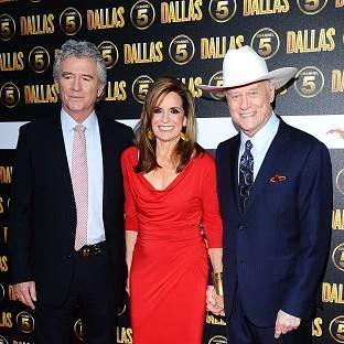 Patrick Duffy, Linda Gray and the late Larry Hagman were part of the orig