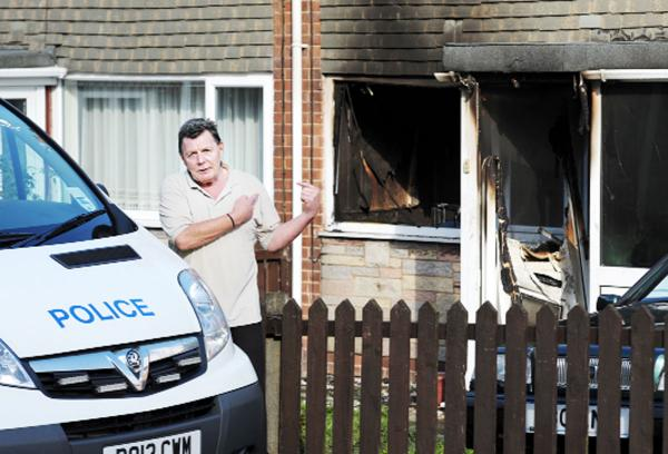 Police probe arson attack on Darwen home