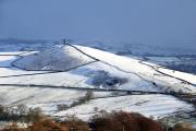 Around 3-8cm of snow is predicted to fall over parts of northern England