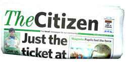 Blackburn Citizen: Static HTML image